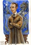 Professor Lupin Sketch by feliciacano