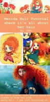 Merida hair tutorial by temiji