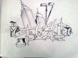 Sketching everyday by ShotOne