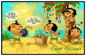 Pocket God Holidays by RoloMallada