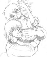Hans X Seras -A lift- by Lsayaku