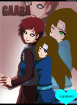 Gaara And Sammi by vampire-yuki-kuran