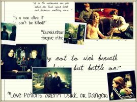 Harry Potter: Wallpaper 2 by endlessly-indigo