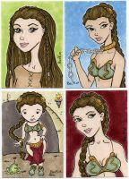 Leia's by beckadoodles