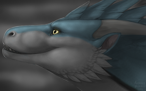 Portrait Speedpaint Commission: Rathios by Scaleeth