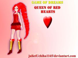 Game Of Dreams:  Queen of Red Hearts V4 by julietUchiha1165