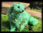 SOLD Chium the moss ferret poseable artdoll! by CreaturesofNat