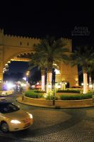 Madinat Jumeirah at night Dubai dec 2010 3 by amirajuli