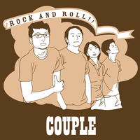 couple rock'n'roll tee by MyPap3rH3art
