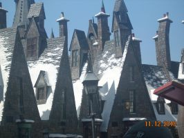 View of Hogsmeade Village by xbeachgirl13