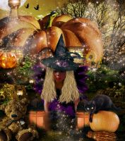 Sweet Magic Halloween by tinca2