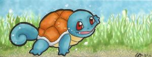 Squirtle Bookmark by OldSophie