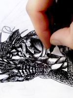 dragon detail preview by Hidden-Treasury