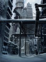 CITY SNOW by loboto