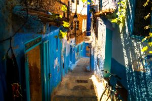 Streets of Morocco by INVIV0