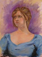 Portrait of a Girl by hever
