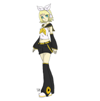 Kagamine Rin by Karire