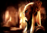 The Elvenking Thranduil by Rikuko