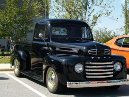 old black truck by Irie-Stock