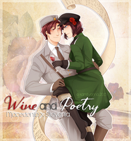 .:APH:. Wine and Poetry by kamillyanna