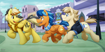 -Commission- Canterlot Tour by BuizelCream