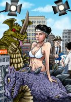 Kaiju Girl by Loneanimator