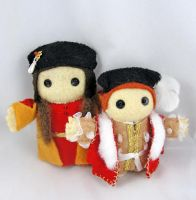 Henry VII and Edward VI by deridolls
