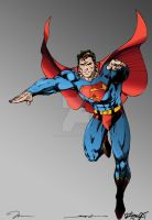 Jim Lee Superman by LarsonJamesART