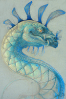 Serpent: Blue by Raironu