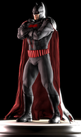 Batman (Earth 2 Alt) by Yare-Yare-Dong