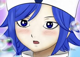 Fairy Tail Juvia Loxar - Colored - Digital Paint by Valerie-heika
