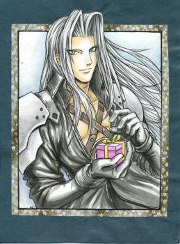 Sephiroth for Marina by sheravira