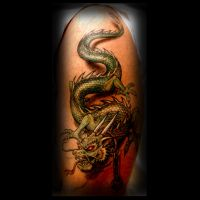 Dragon tattoo by ErdoganCavdar