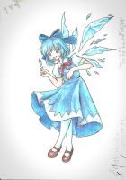 Cirno by CatOfRAGE