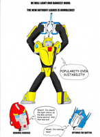 BUMBLEBEE PRIME by JohnnyFive81