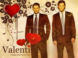 Happy Supernatural Valentine's Day by Nadin7Angel