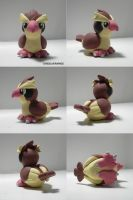 Pidgey Sculpture by ChibiSilverWings