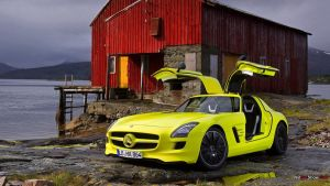 Mercedes-Benz SLS AMG E-Cell Concept by RDbrony16
