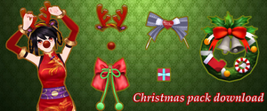 Christmas pack DOWNLOAD by IlluminatedTears