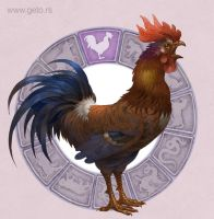 2017, The Year of the Rooster by Boban-Savic-Geto