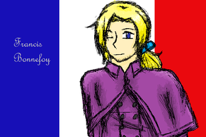 France on MS Paint by JustSomeRandomKidLol