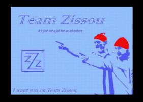 Team Zissou Recruitmen Poster by MitchMerriweather18