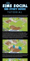 Sims Social: 2nd Story House Tutorial by bdevries