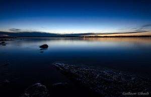Twilight on Warner Bay, Huron Lake by GuillaumGibault