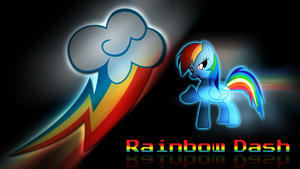 Rainbow Dash - Cutie Mark by Jamey4