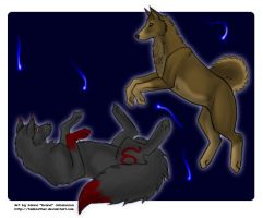 ZJ + Sui - Playing puppies by tailfeather