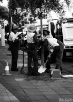 Hard at work by Grant-Booysen