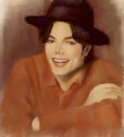 Michael jackson smile by 0osorao0