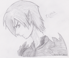 Fenris Sketch by x-Short-Hilt-x