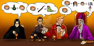 Dinner With Lockhart by Berende